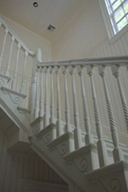 custom staircases by Vintage Millwork of Dracut, MA