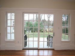 interior, exterior, and patio doors